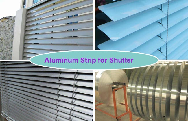 aluminium strip for shutter